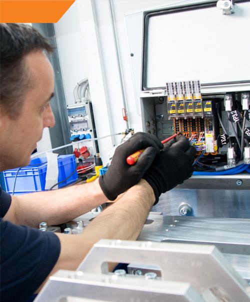 Amkon GmbH - Ausbildung als Elektroniker/-in für Betriebstechnik